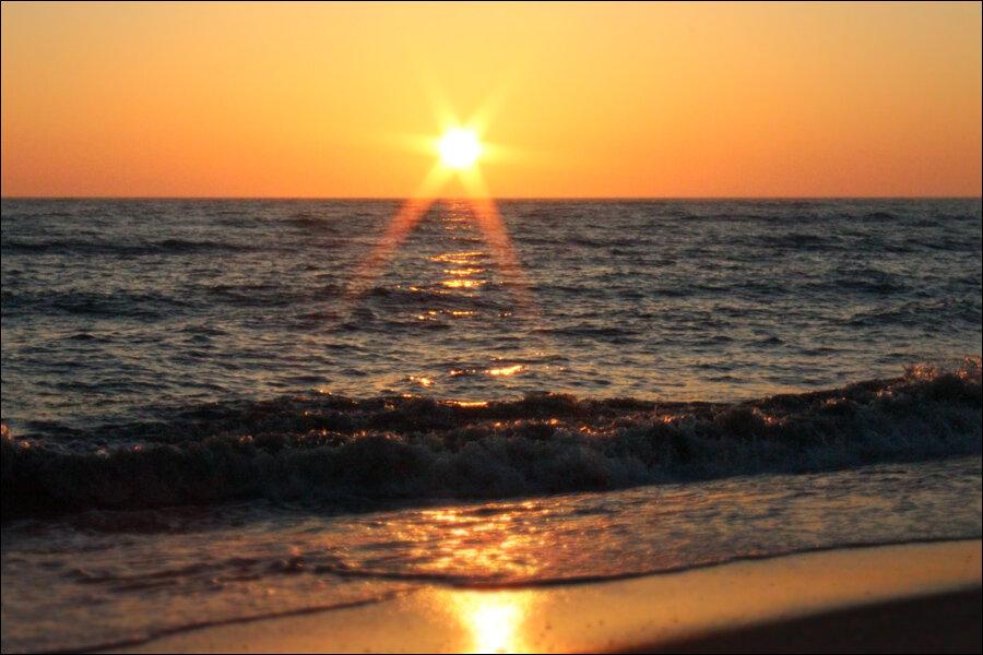 Изображение 1 : Майский вечер на море 2.