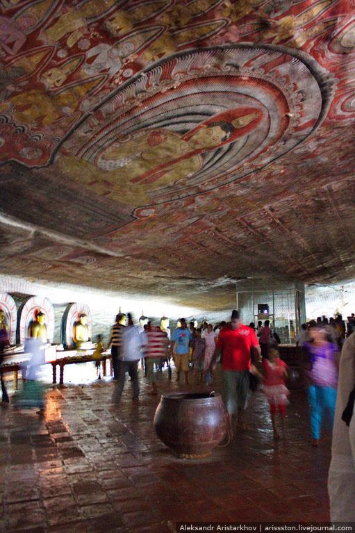 Шри-Ланка_Пещерный храм_09