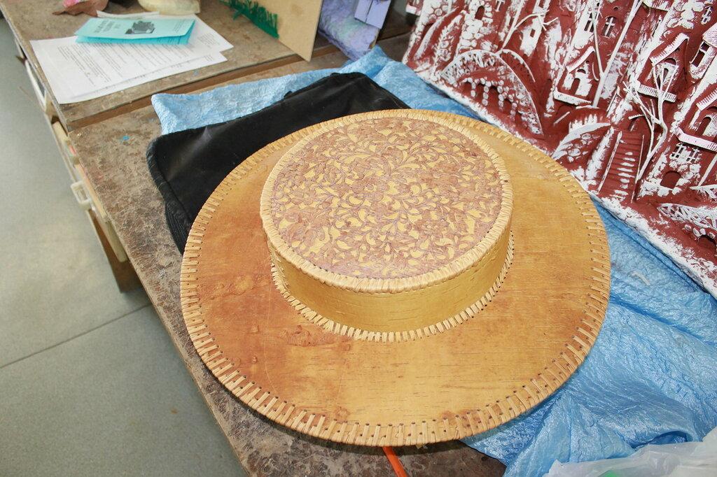 Шляпа из бересты