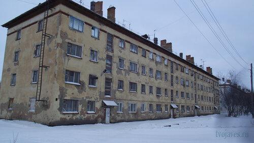 Фото города Инта №2747  Гагарина 5 и 3 31.01.2013_13:15