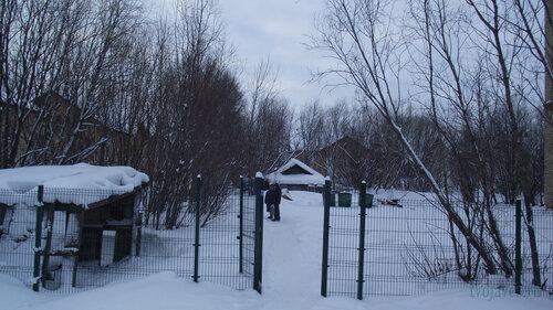 Фото города Инта №2798  Промежуток между Коммунистической 5 и Гагарина 11 31.01.2013_13:26