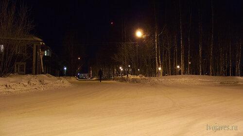 Фотография Инты №3318  Северо-восточный угол аллеи