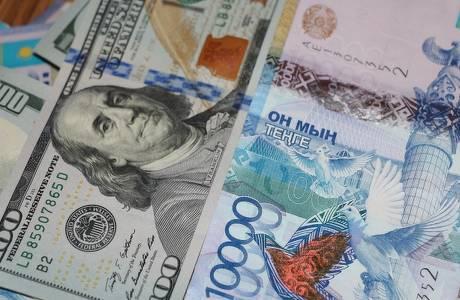 Курс тенге кдоллару в областях Казахстана