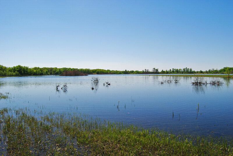 9.05.13 Озеро Нарезное в разлив