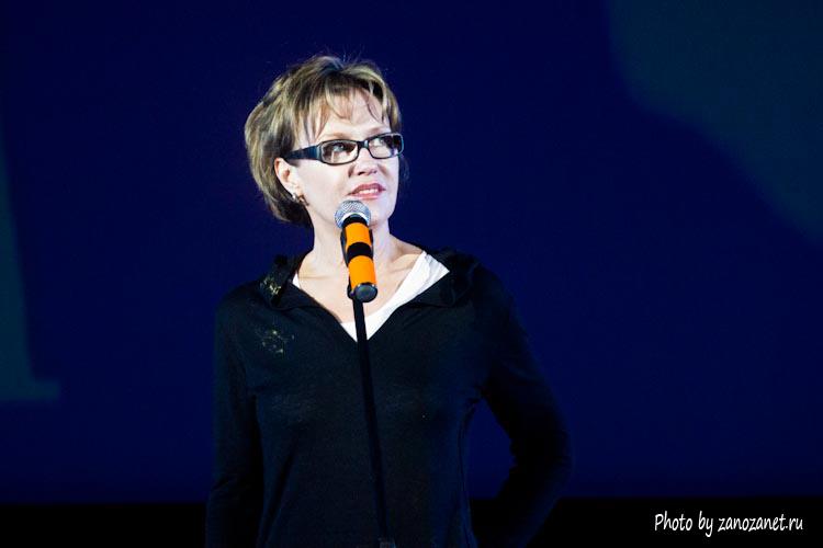 Ирина Розанова. Церемония закрытия фестиваля Святая Анна 2013.
