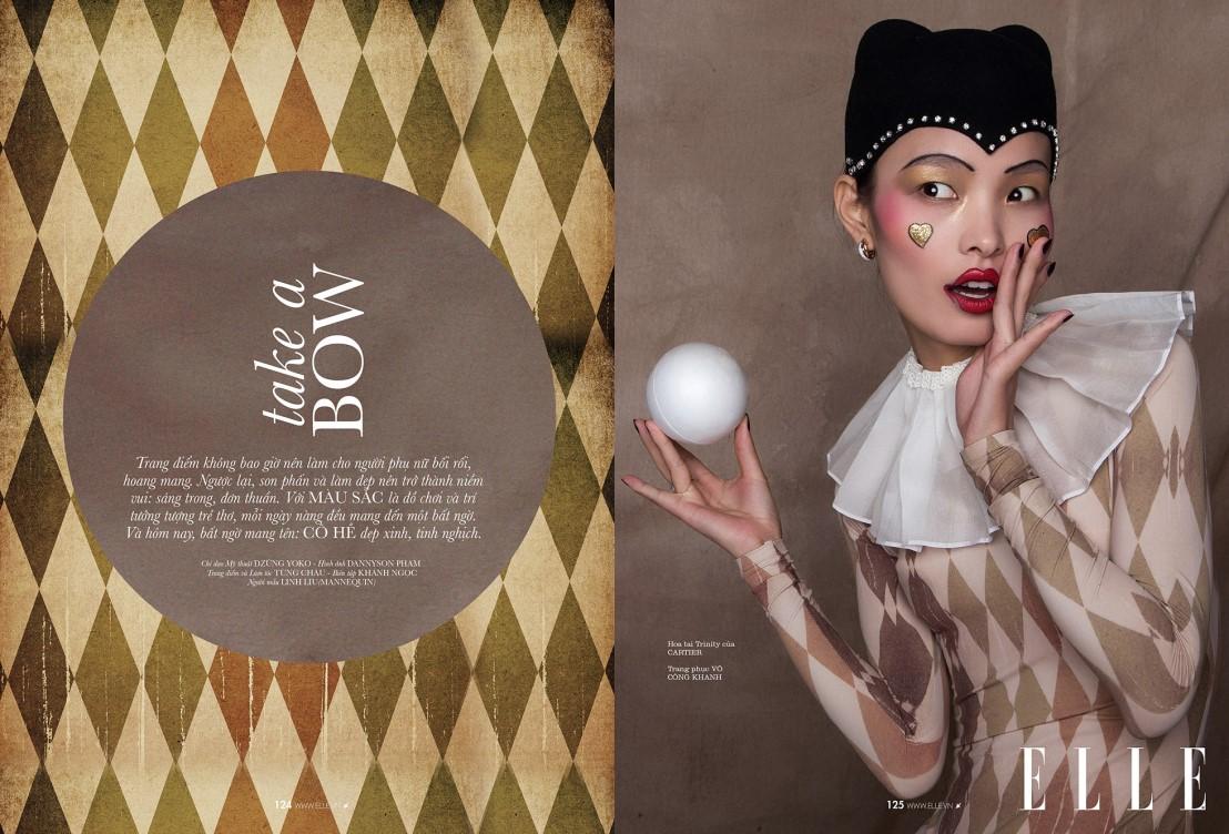 Линг Лиу (Ling Liu) в журнале Elle Vietnam