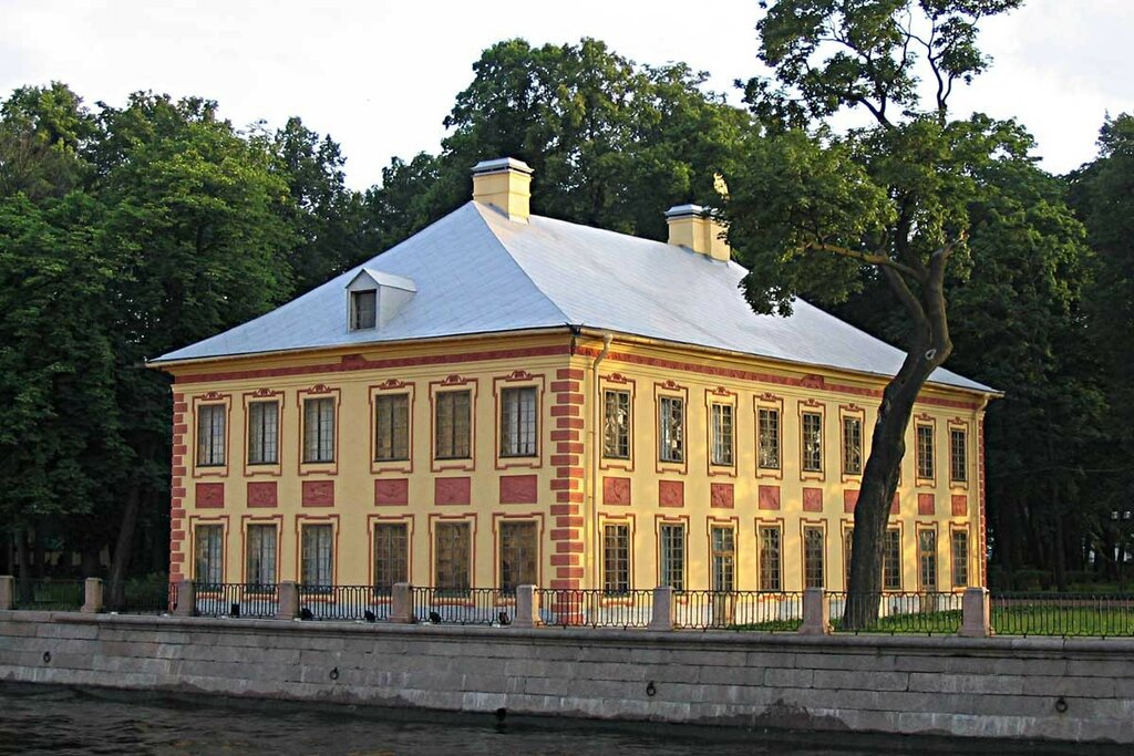 Летний дворец Петра I и Летний сад.jpg