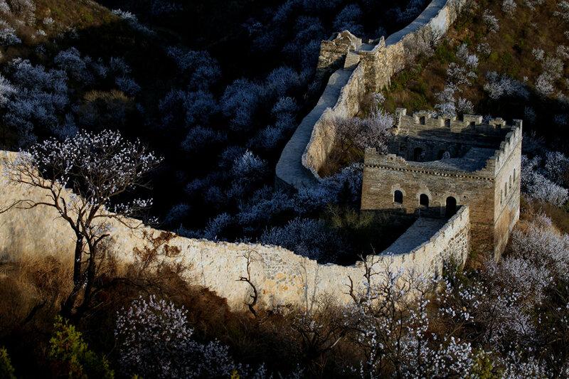 Чудесные виды Великой стены в начале весны 0 82287 30556209 XL