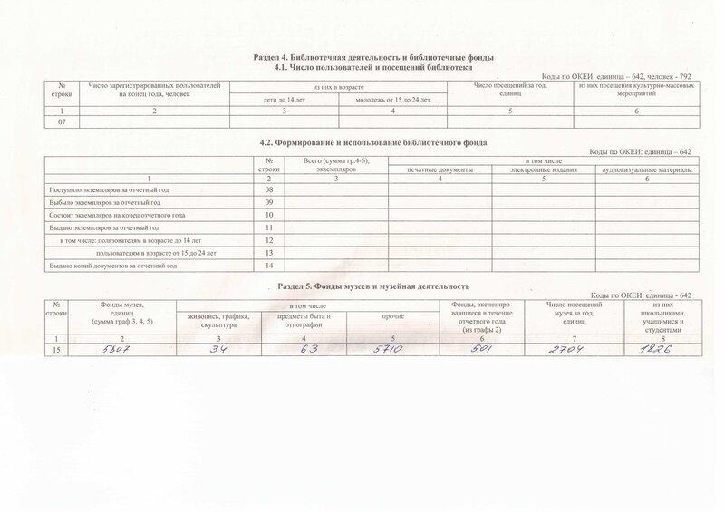 """Стат.отчет МУК ЦКиД """"Полярная звезда"""" за 2013 год"""