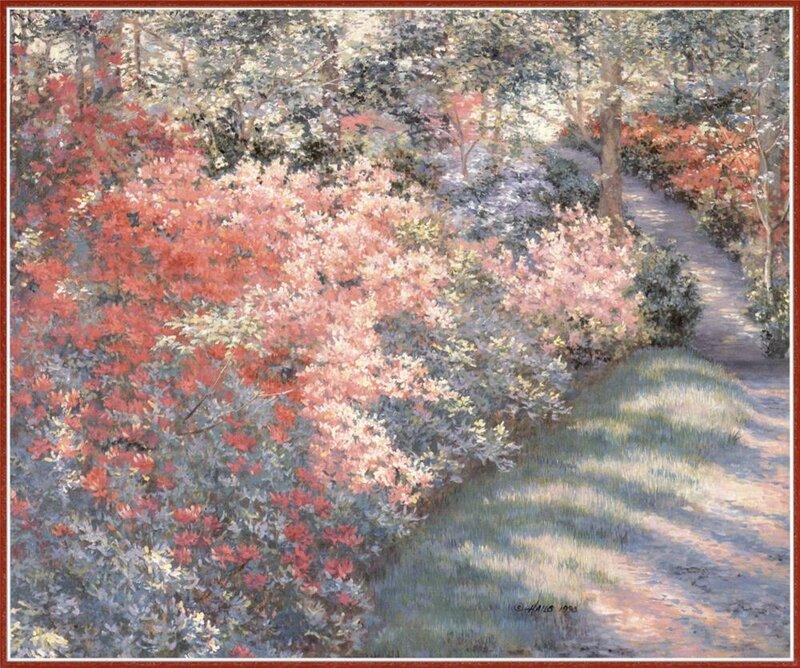 Нежные краски в картинах Barbara Hails