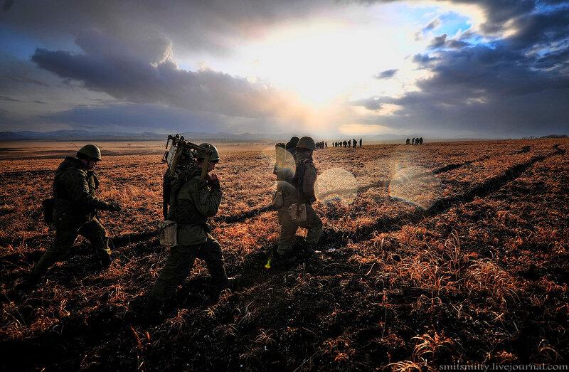 Морпехи ТОФ «дали жару»: в Приморье прошли батальонные тактические учения с боевой стрельбой