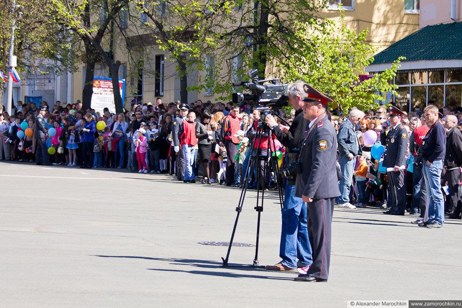 Празднование Дня Победы в Саранске