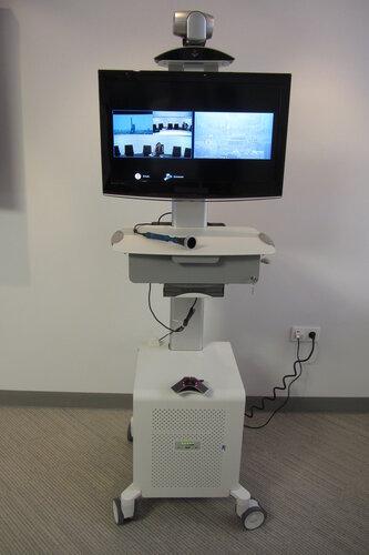 Медицинский видеотерминал Polycom