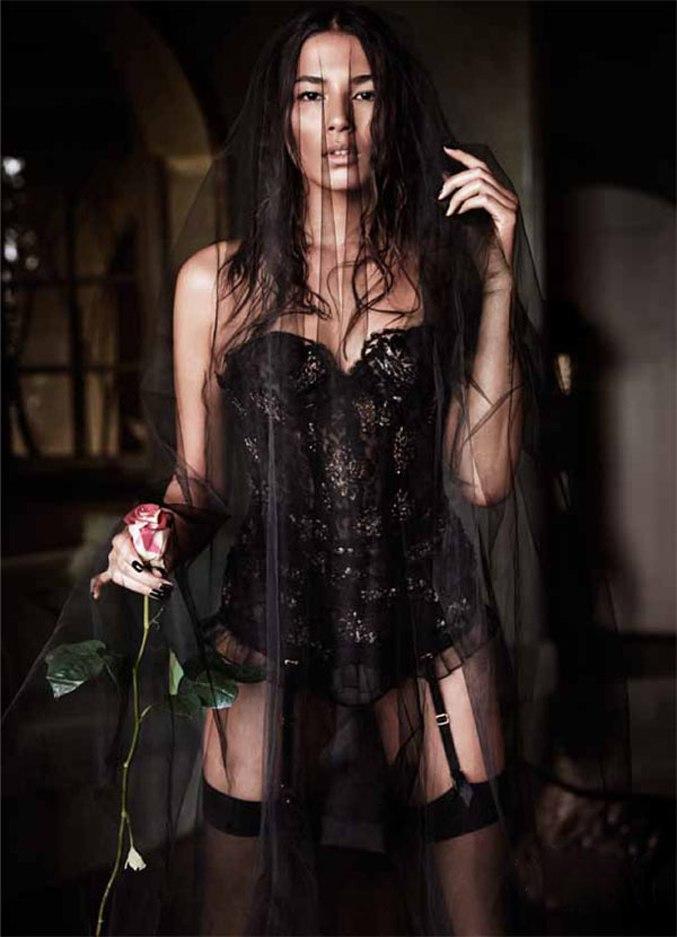 модель Джессика Гомеш / Jessica Gomes, фотограф Simon Lekias