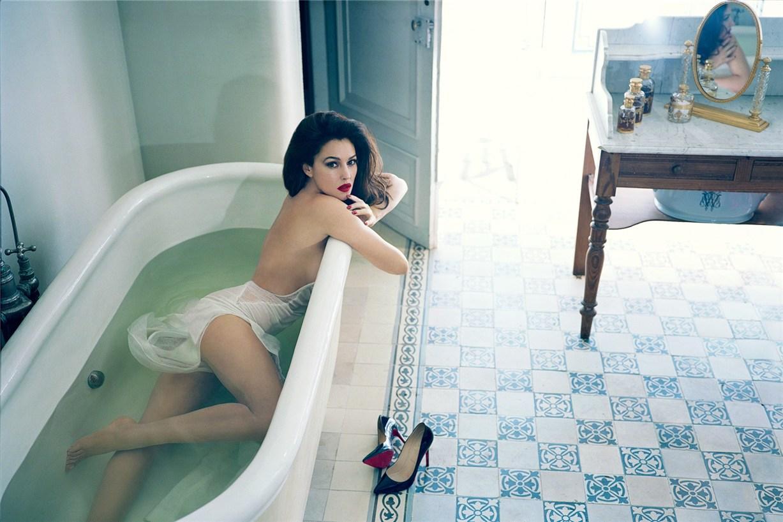 модель Моника Беллуччи / Monica Bellucci, фотограф Norman Jean Roy