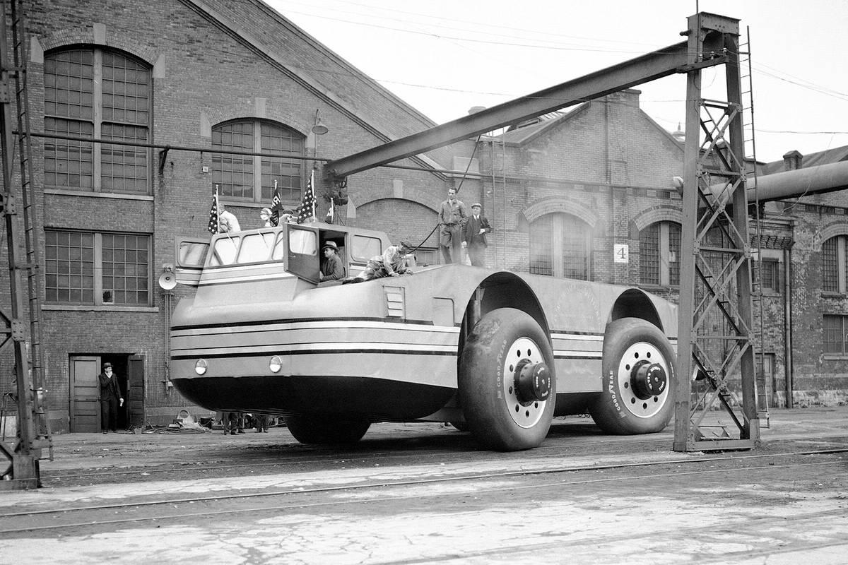 Снежный крейсер: История одного неудачного американского проекта по исследованию Арктики (1939 год) (1)