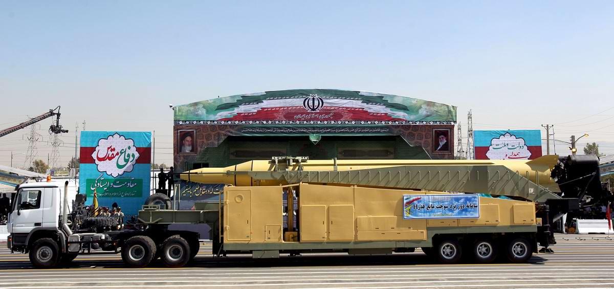 К 35-летию с момента начала ирано-иракской войны: Военный парад в Тегеране (16)