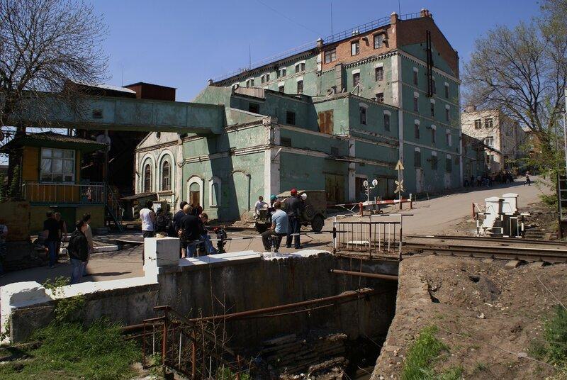 Съёмочная пл. Ростов на Дону 25 04 2010 г.