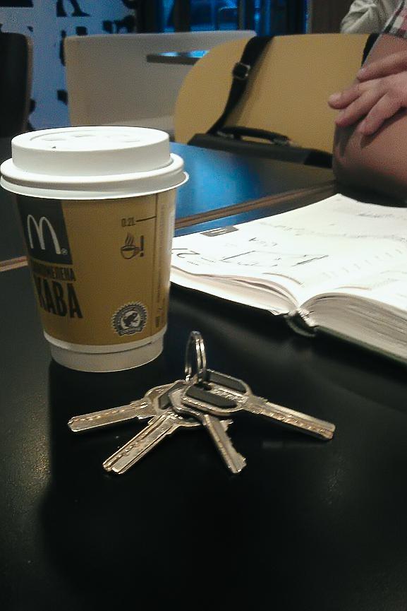 ключи от фотостудии