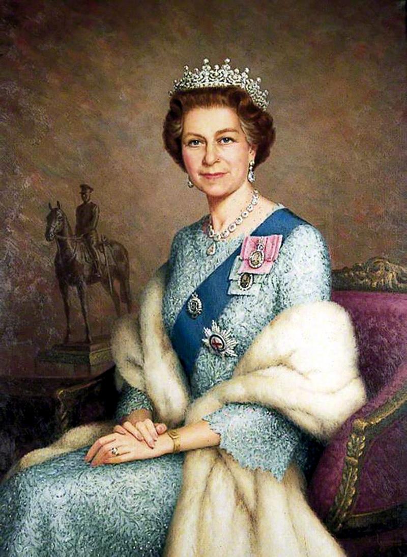 HM Queen Elizabeth II (b.1926) 1977