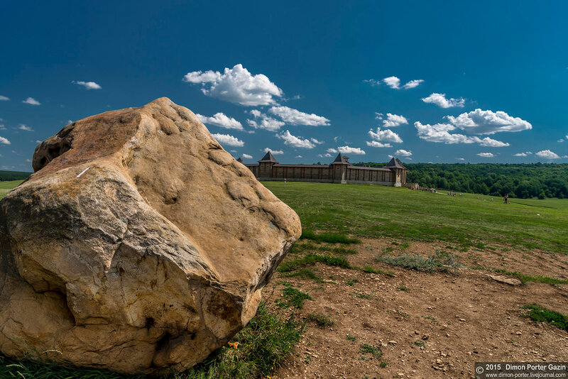 Каменка. Парк Кудыкина Гора. Скифская крепость