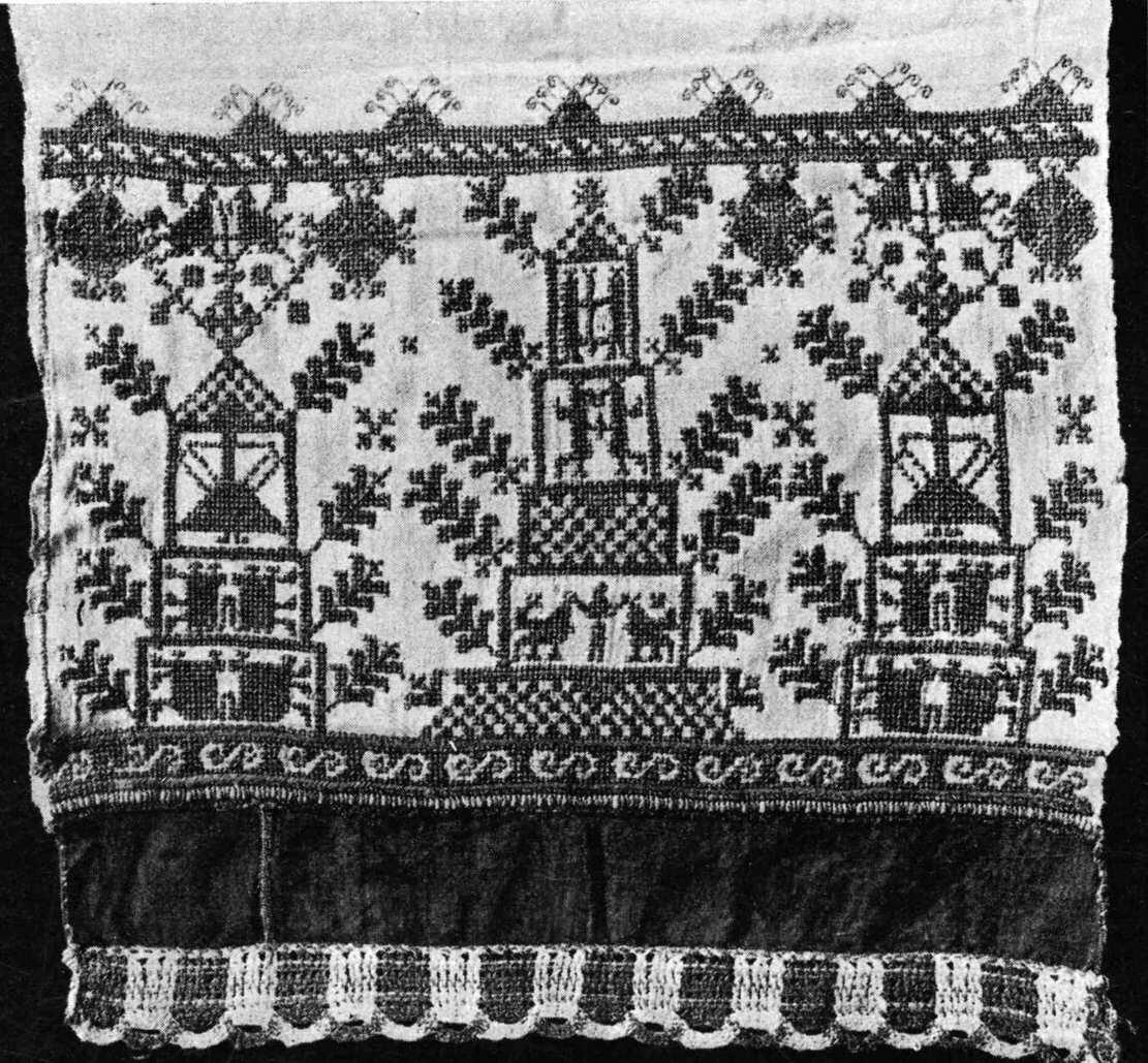 20. В селе Вышней Залегощи, Новосильского уезда, собрана была значительная коллекция таких вышивок