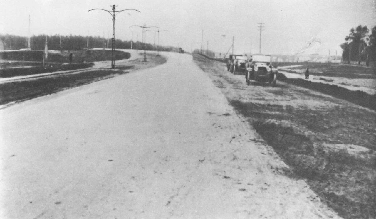 Волоколамское шоссе. 1930