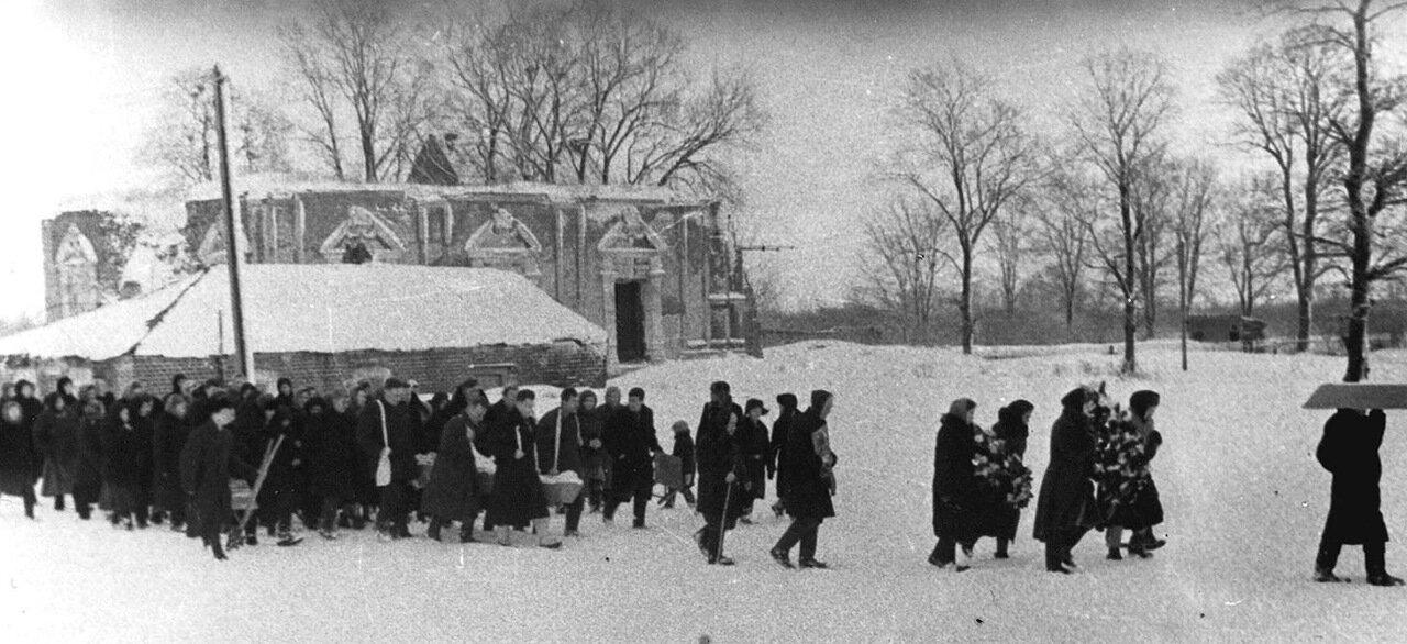 1960 год похороны