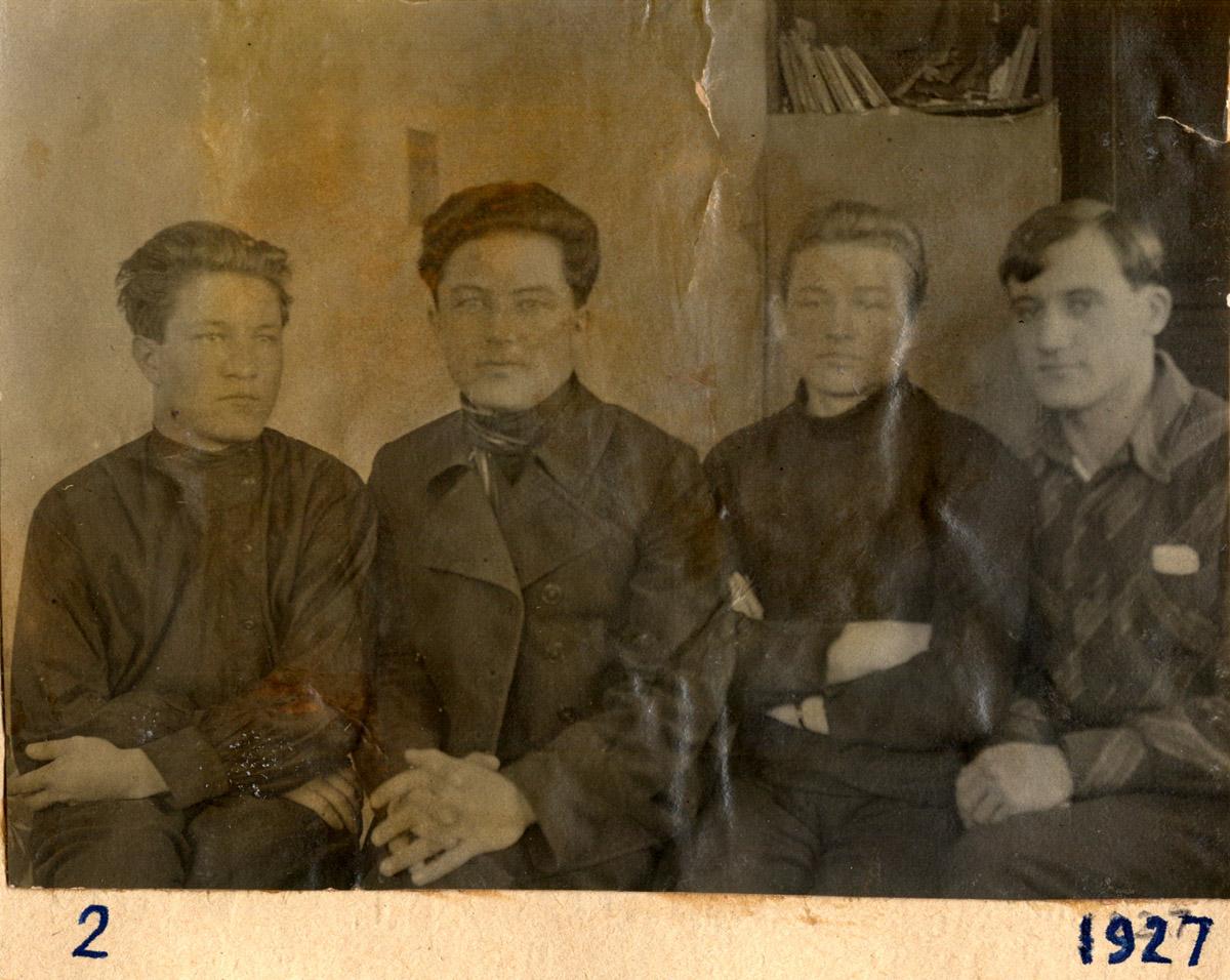 Студенты 1-го курса ТСХА (1927)