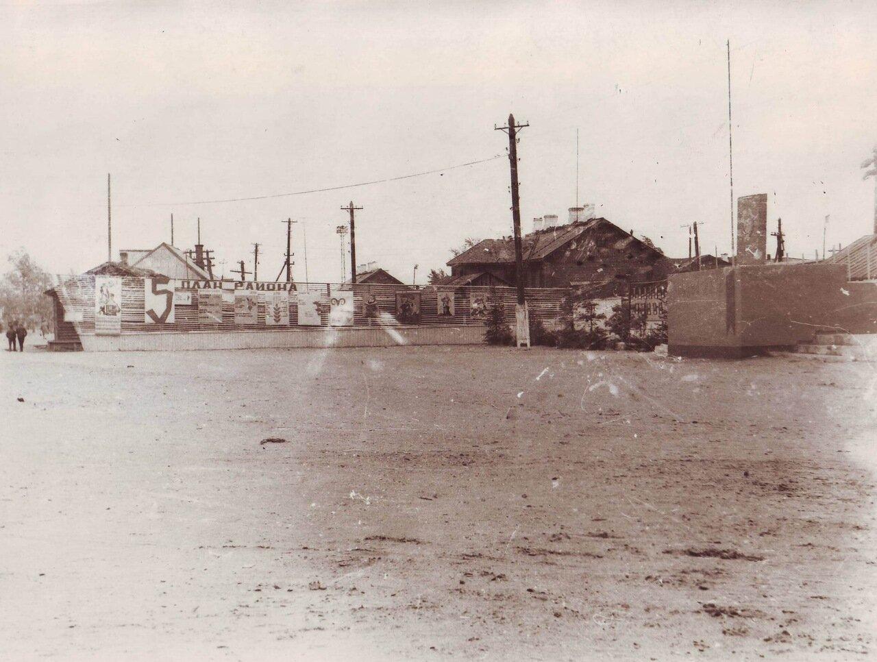 Центральная площадь р.п. Пачелма