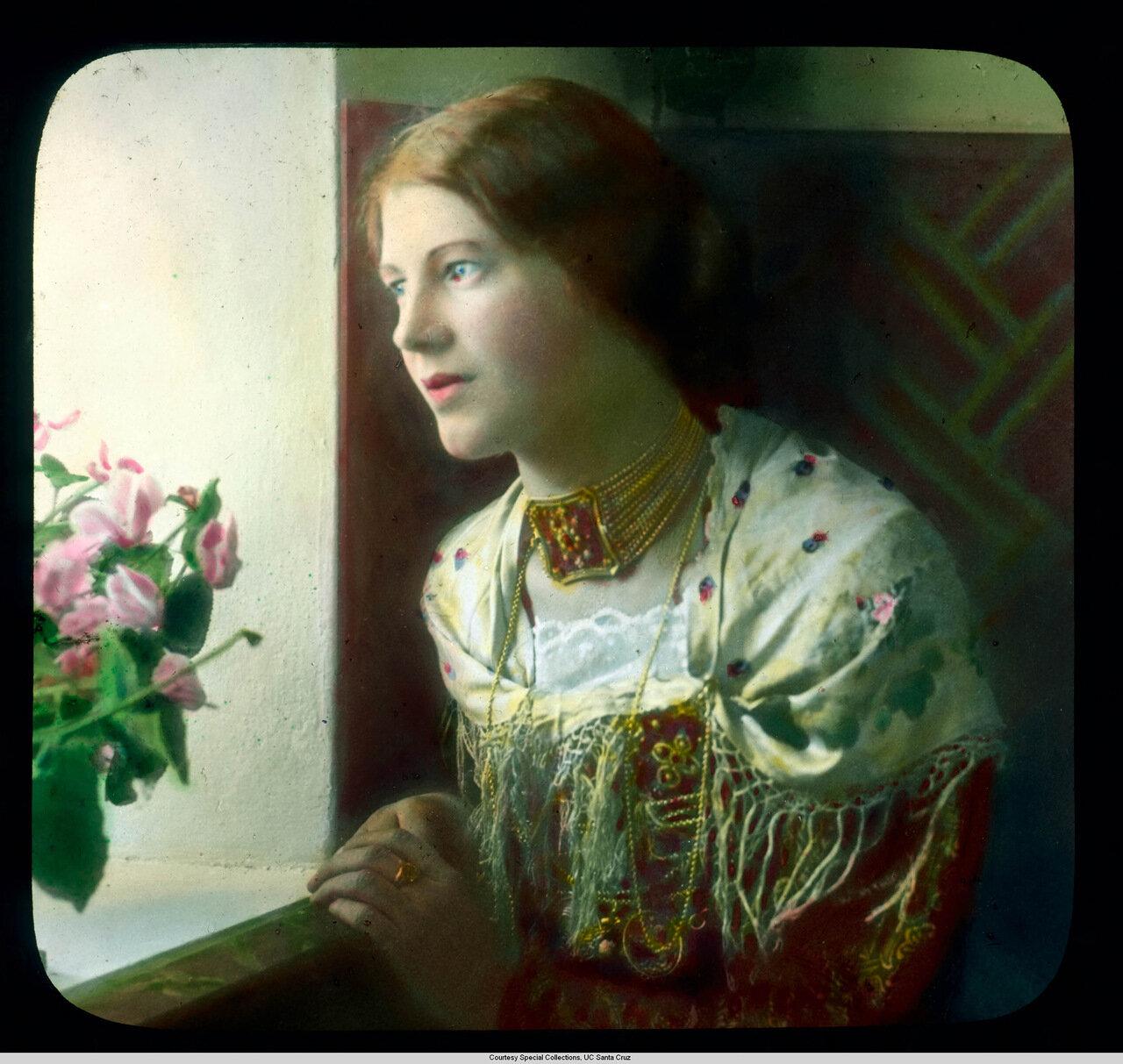 Обераммергау. Страсти Христовы. Энни Ратц, Дева Мария в 1930 г.