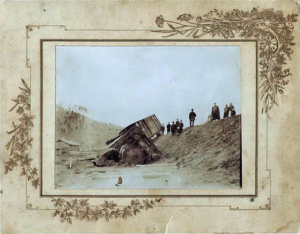 8. Крушение поезда под Самарой