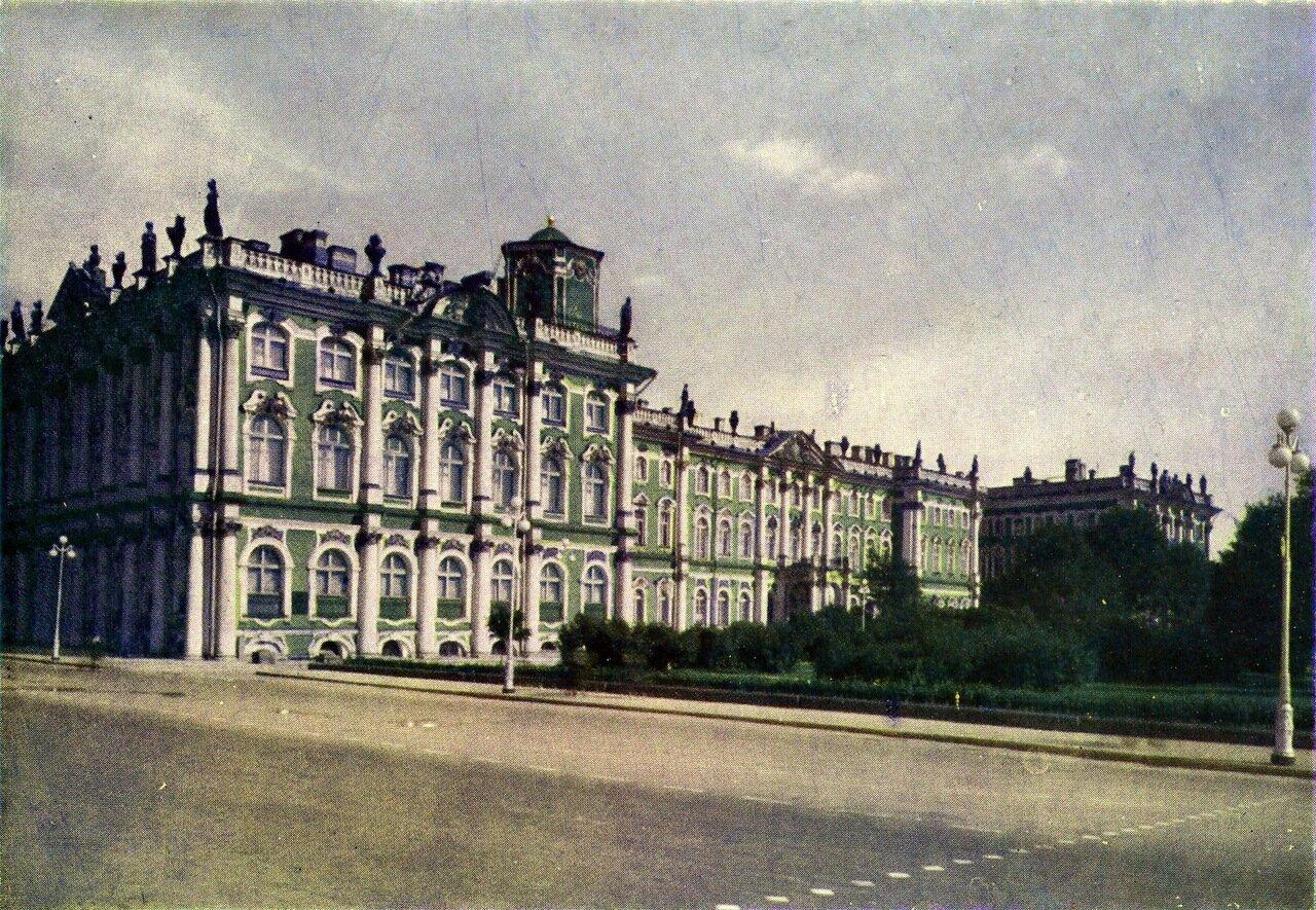 Зимний дворец. Вид от Дворцового моста