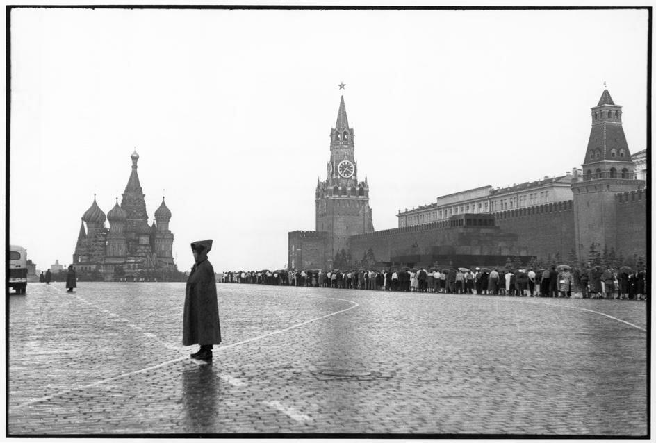 1954. Москва. Красная площадь. Кремль