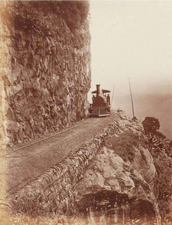 Железная дорога между Коломбо и Канди около 1870 года
