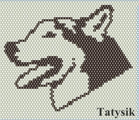 собаки (2 схемы) | biser.info