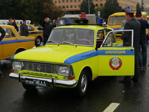 Москвич-412 - милиция