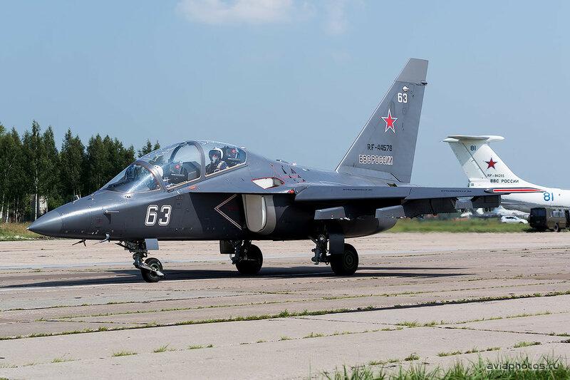 Яковлев Як-130 (RF-44578 / 63 белый) ВКС России 0180_D805532