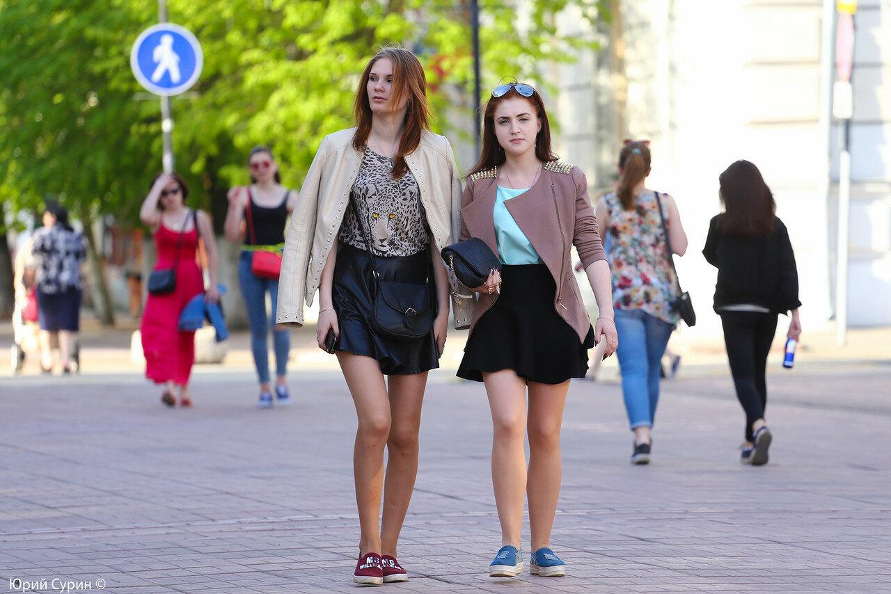 Красивые девушки фото на улице русские