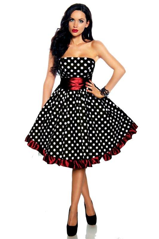 f11cbee5e7c Нестареющая классика. Платье в горох.... Обсуждение на LiveInternet ...