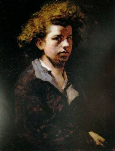 автопортрет 1863