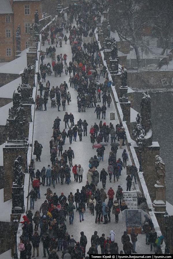 Зимняя Прага