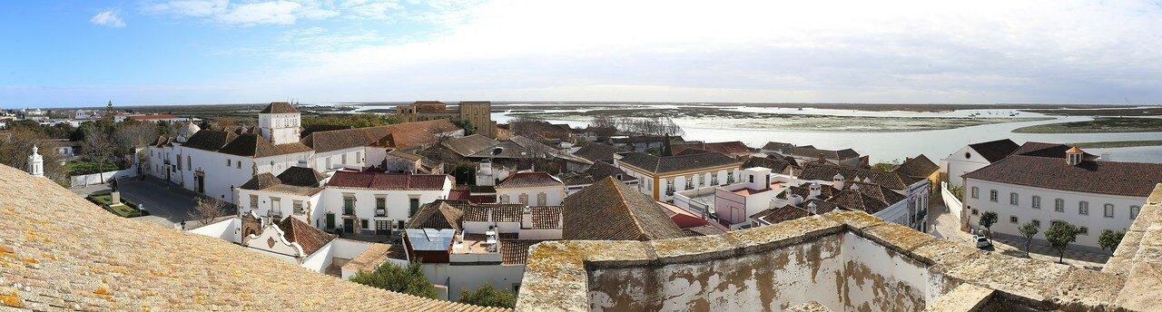 Фару и окрестности. Вид с крыши Кафедрального собора