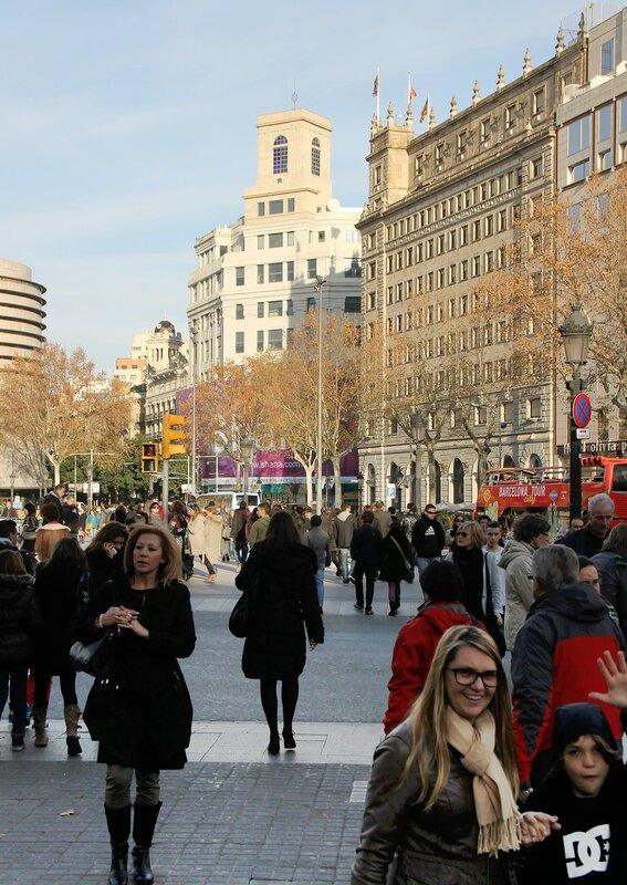 Plaza Catalunya, Barcelona