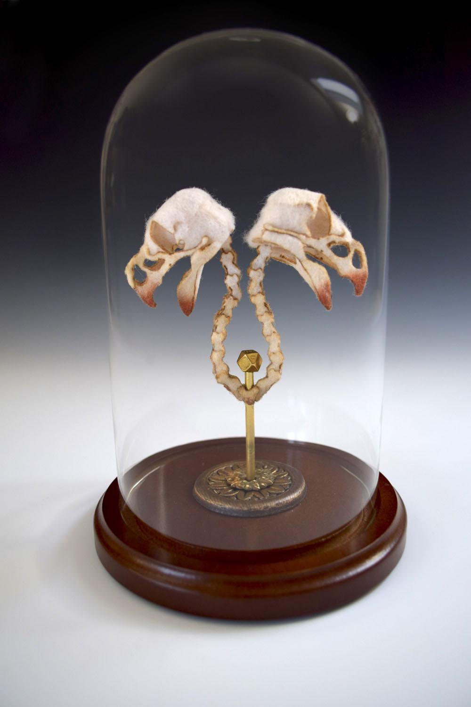 Анатомические скульптуры из шерсти