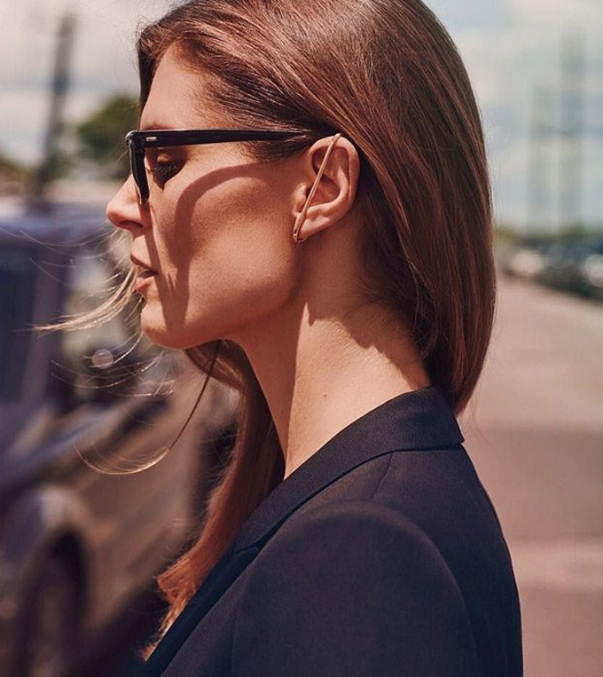 Малгосия Бела на обложке Vogue