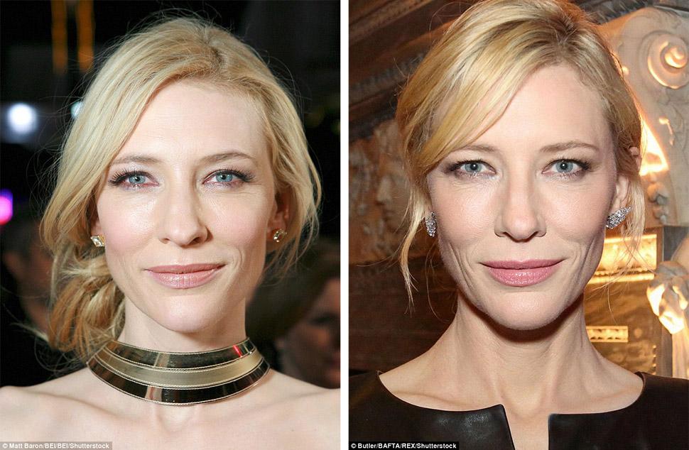 Кейт Бланшетт явно владеет голливудскими секретами красоты, ведь, судя по этим фотографиям, для нее