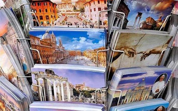 39. Чтобы себя побаловать, в память о каждом дне путешествия посылайте себе открытки. Какое удовольс
