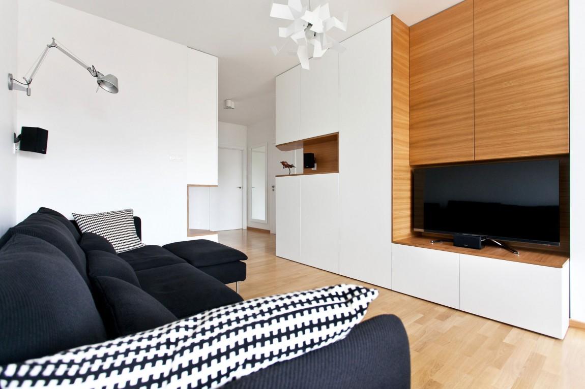 Белый интерьер квартиры