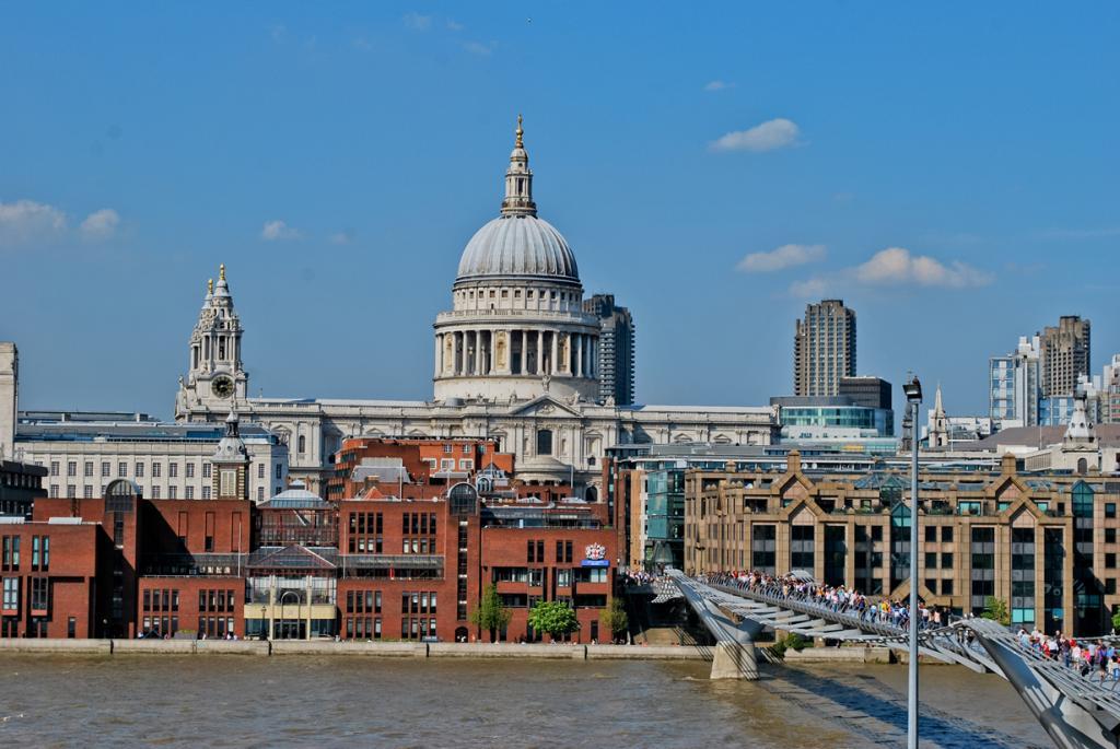 Великобритания. Лондон. Собор Святого Павла. (Francis Fantoni)